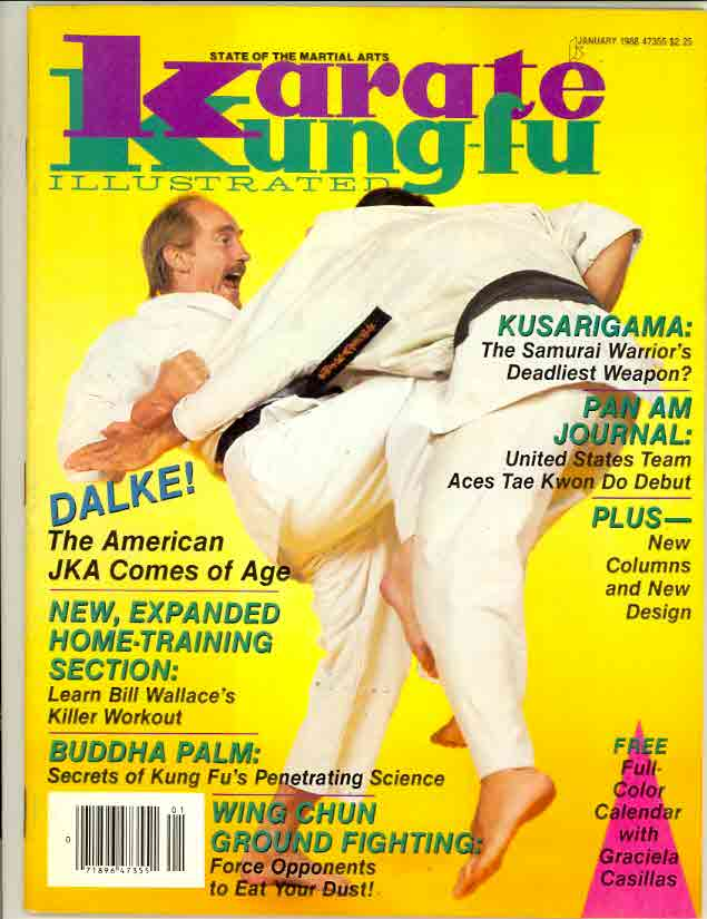 01/88 Karate Kung Fu Illustrated